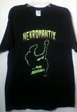 Nekromantix Pure Nekrobilly T Shirt Machete Fruit Of The Loom Large Tee 2004