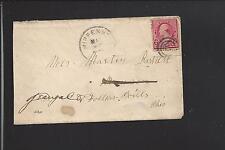 CHIPPENHOOK,VERMONT COVER,1894,#220 RUTLAND CO.DPO. 1889/03 SR/6 VERY SCARCE.