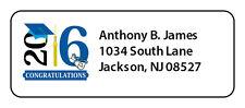 2018 Personalized Graduation Mailing Labels