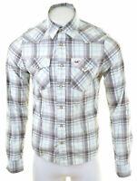 HOLLISTER Mens Shirt Medium Multi Check Cotton  LW16