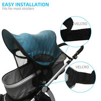 1X UV Sun Shade Visor Sun Hood Canopy For Baby Buggy Stroller Pram Pushchair 03