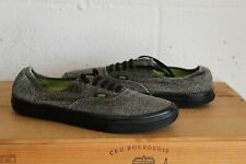 GREY CANVAS VANS OFF THE WALL TRAINERS SIZE 10 11US WELL USED CONDITION