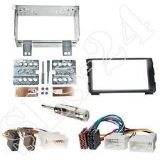 Kia cee 'd (ed) doble DIN diafragma kit de integracion + ISO KFZ adaptador + conector antena
