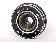 INDUSTAR 69 LENS 2.8/28mm M39 MADE IN USSR #7