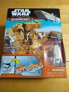 2 Hasbro Micro Machines Playset Star Wars First Order Stormtrooper / New