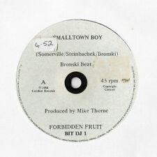"BRONSKI BEAT * SMALLTOWN BOY * 7"" DJ PROMO SINGLE BIT DJ 1 PLAYS GREAT"