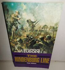 BOOK Hindenburg Line 1st book in WW1 Battleground Europe Series op 1997 1st Ed