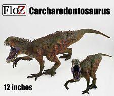"Carcharodontosaurus Dinosaurs 12"" PVC large solid Figurine Figure model Floz"