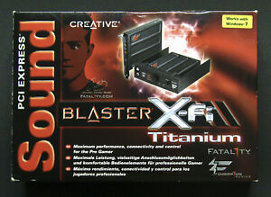 Creative SoundBlaster X-Fi Fatality Titanium