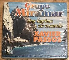 GRUPO MIRAMAR 2 cd XAVIER PASSOS Una Lagrima Y Un Recuerdo/Cumbias Vol 1 NEW