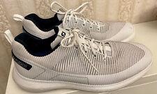 FootJoy FJ Flex XP Golf Shoes White 56250 Waterproof Lace Up Mens US Size 13 M