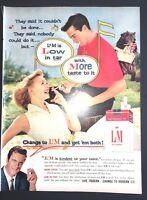 Life Magazine Ad L&M Cigarettes 1959 Ad