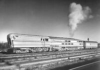 Railroad photo C&O Chesapeake & Ohio M-1 Steam Turbine Locomotive #500 train
