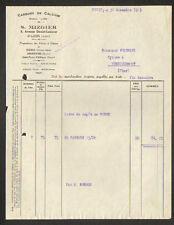 """PARIS (VII°) CARBURE de CALCIUM Lion """"S. MIZGIER"""" en 1923"""