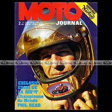 MOTO JOURNAL N°140 PHIL READ MV AGUSTA 500 GRAND PRIX ERIC OFFENSTADT 1973
