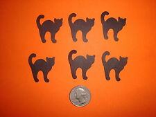 40 BLACK SCARDY CAT DIE CUTS PUNCHES CONFETTI SCRAPBOOKING