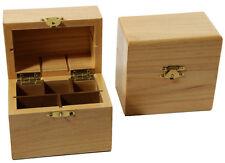 2 Wooden Gold Testing Acid Storage Boxes Silver 10k 14k 18k 24k Platinum 999 oz