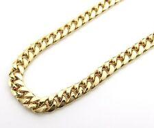 14K Gold Miami Cuban Chain 24 Inches 6.7MM 30.8 Grams