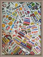 Set 10 sheets  RC Car  Mini Racing Random Mix Stickers Kit #RD10