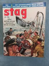 Stag Men's Pulp/Adventure Magazine November 1957
