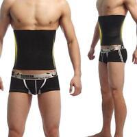 Men's Abdomen Fat Corset Beer Belly Body Shaper Slimming Waist Trimmer Belt WT