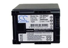 BP-820 Battery For CANON FS100 Flash Memory Camcorder, HF M40, M400 M41 S10