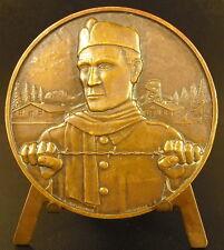 """Médaille Souviens toi"""" S.T.O Service du travail obligatoire camps de prisonniers"""