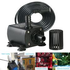 DC12V 10W Mini  Brushless Submersible Water Pump Waterproof Aquarium 400L/H Tool