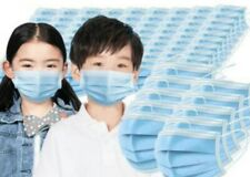 50/100 PCS Face Mask Mouth & Nose Protector Respirator Mask For Child Boy Girl
