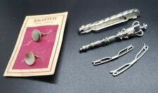 Men's Cufflinks and accessories Lot of 5 Vintage