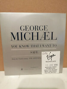 George Michael - You Know That I Want To/Safe - 1996 2 Track Promo CD