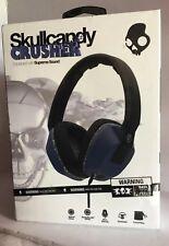 FACTORY SEALED Skullcandy CRUSHER Headphones S6SCGY-442 Blue Black