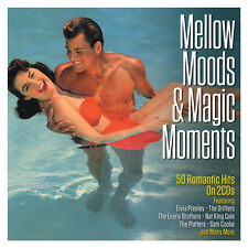 Mellow Moods & Magic Moments VARIOUS ARTISTS Best Of 50 Romantic Songs NEW 2 CD