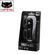 CATEYE VOLT400 Bike Front Head Light Rechargeable Black Flashlight Lamps