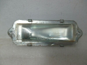 Mopar USED 1963 Plymouth Savoy Belvedere Fury License Lamp Assy CRACKED 2422664C