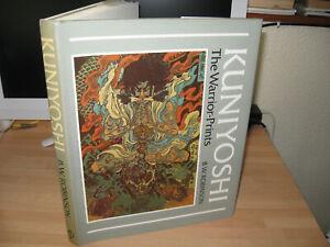 Kuniyoshi The Warrior-Prints 1982 1st Japanese art Samurai colour plates Phaidon