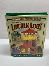 Lincoln Logs 100 & 83 Piece Frontier Junction & Horseshoe Hill set 915 & 867