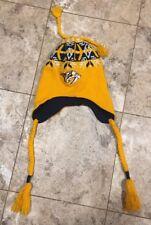 Nashville Predators Winter Knit Cap Hat with Tassels NHL