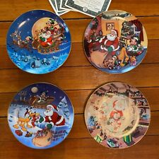 Disney: Mickey's Holiday Magic Collection from The Bradford Exchange (4 plates)