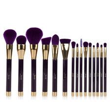 US Jessup 15Pcs Cosmetic Brushes Foundation Make Up Brush Tools Set Darkviolet