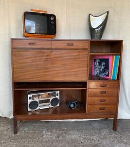 Retro Teak Bureau - Nissenbaum & Sons - Ex MOD Furniture - Mid Century - Vintage