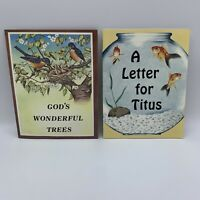 Little Jewel Books Gods Wonderful Trees A Letter For Titus Rod & Staff 2004