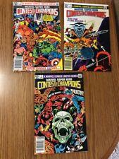 Marvel Super Hero Contest of Champions 1982 Vol 1, #1,2,3  VF?VF+