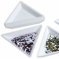2X Container Holder Triangle Phone / Craft / Nail Art / Rhinestones Gems BeadS&C