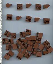 LEGO x 40 Reddish Brown Slope, Inverted 45 2 x 2 NEW 3660