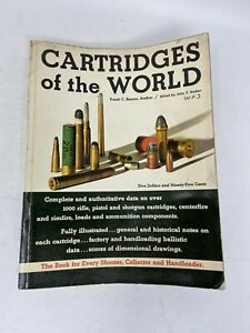 Cartridges of the World, 1965 Frank C. Barnes Paperback