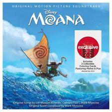 Moana Original Motion Picture Soundtrack Target Exclusive Disney NEW