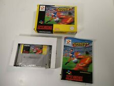 International Superstar Soccer Nintendo SNES Boxed Complete PAL MINT BOX