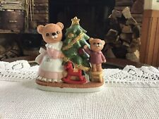 Homco Figurines # 5114 Mommy And Baby Bear
