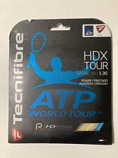Tecnifibre HDX Tour 16 Gauge 1.30mm Tennis String NEW Natural 1-set